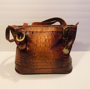 Brahmin Leather Brown Bag